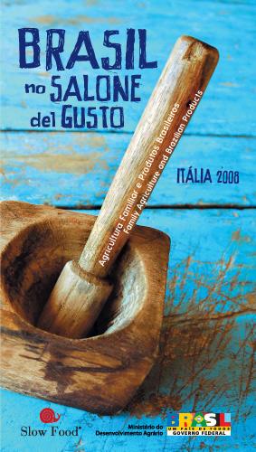 Catálogo Brasil no Salone del Gusto Slow Food