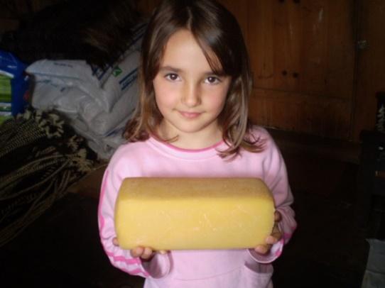 queijo serrano menina