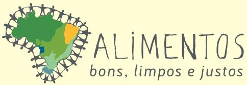 Logo projeto Alimentos Bons, Limpos e Justos