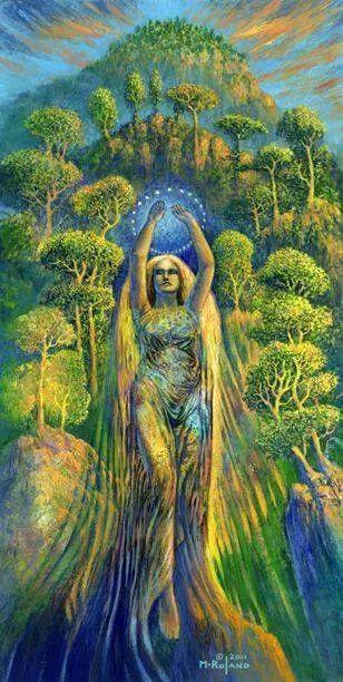 post mulher natureza