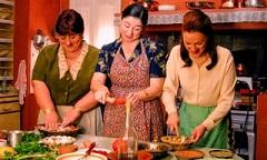 Tias cozinhando Tempero da Vida